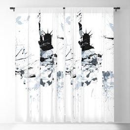 NEW YORK SPLASH Skyline two Blackout Curtain