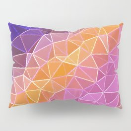 crystalized rainbow Pillow Sham