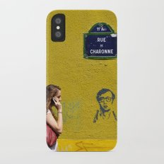 Woody's on a wall Slim Case iPhone X