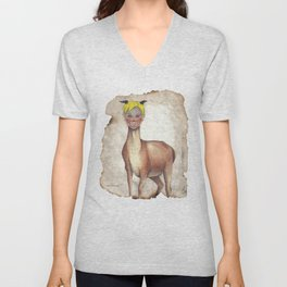 Deer Child Unisex V-Neck