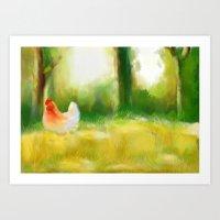 farm Art Prints featuring Farm by Susana Zarate