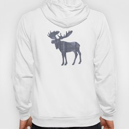 Moose Silhouette Woods Country Home Decor Farmhouse Art A064b Hoody