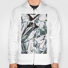silver foil Hoody