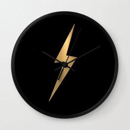 Lightening Wall Clock