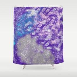Splash of Purple Shower Curtain