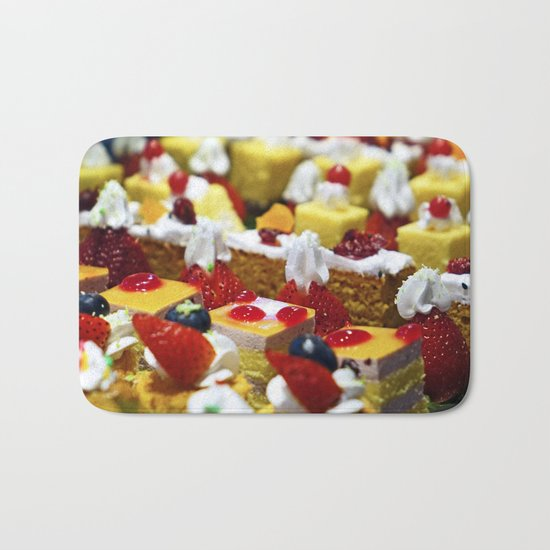 cakes Bath Mat