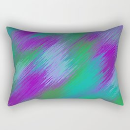 purple green and pink painting texture abstract background Rectangular Pillow