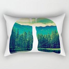Lung Forest Fresh Rectangular Pillow