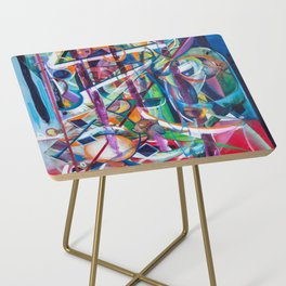 Augurs of Spring Side Table
