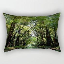 Redwood Reflection Rectangular Pillow