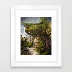 Memoirs of Italy Framed Art Print