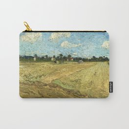 The Ploughed Field by Vincent van Gogh Carry-All Pouch