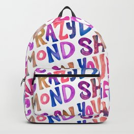Shine On Your Crazy Diamond – Vintage Palette Backpack