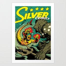 Silver Comics #1, 2004 Art Print