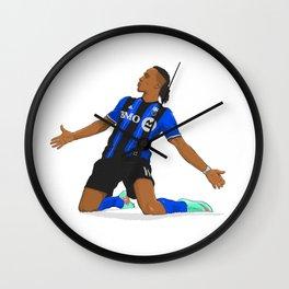Didier Drogba Celebration Wall Clock