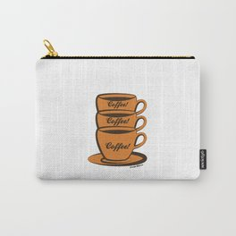 Coffee! Coffee! Coffee! Carry-All Pouch