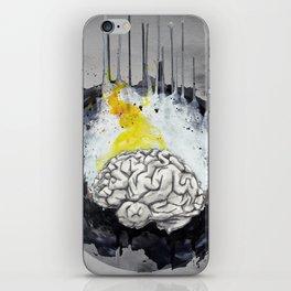 Grey Matters iPhone Skin