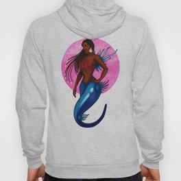 Blue Sea Slug Mermaid Hoody