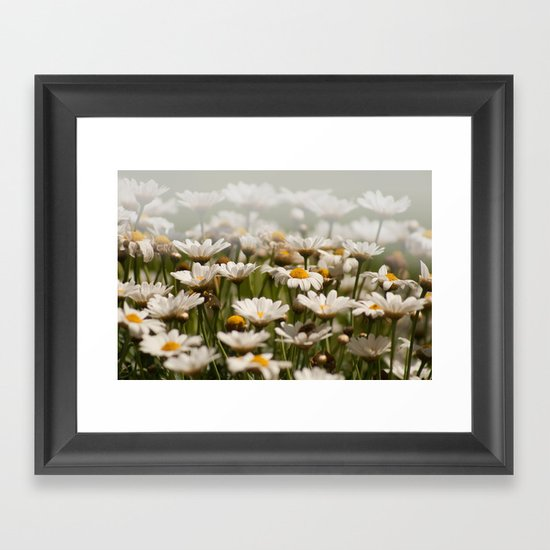 Wave of Daisies 2171 Framed Art Print