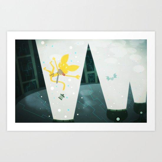 The Berinale elevators Art Print