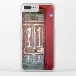 Door #511 Clear iPhone Case