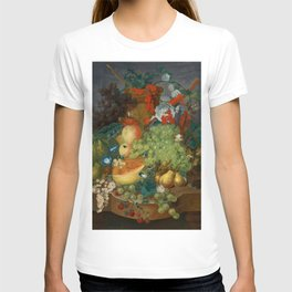 """Jan van Os  """"Fruit still life with a mouse on a ledge"""" T-shirt"""