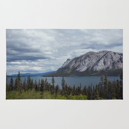 Tagish Lake Yukon Canada Rug