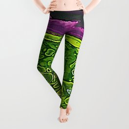 Green Cells Leggings