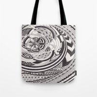 fibonacci Tote Bags featuring Fibonacci Effect by SRC Creations