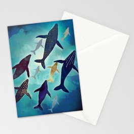Light Above Stationery Cards