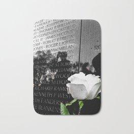 Vietnam Memorial Bath Mat