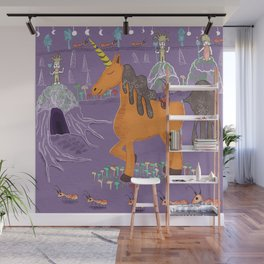 A Unicorns World Wall Mural