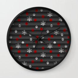 Winter Wooly Art Wall Clock