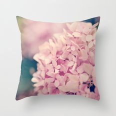 Come Hither, Pink Throw Pillow