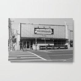 Boudreaux's Louisiana Kitchen B&W Metal Print