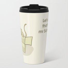 cats and boxes Travel Mug