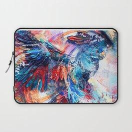 Cockatoo circlings Laptop Sleeve