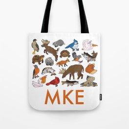 MKE Native Animals Tote Bag