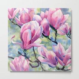 """Magnolia"" Metal Print"