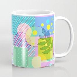 An abstract painting .   Good morning! Coffee Mug