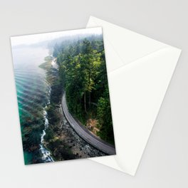 The Vancouver Seawall Stationery Cards