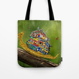 Forest Hike Tote Bag