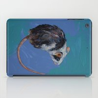 mouse iPad Cases featuring Mouse by Michael Creese