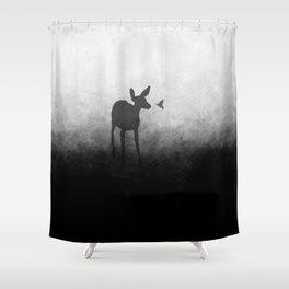 Hummingbird Kiss Shower Curtain