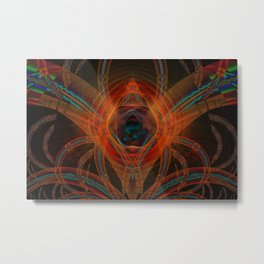 Vader Symmetrical Abstract Metal Print