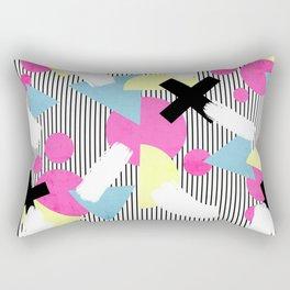 80's Theme Rectangular Pillow