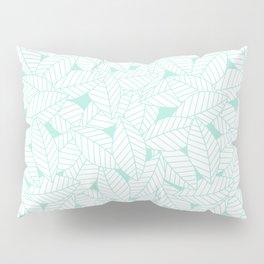 Leaves in Ocean Pillow Sham