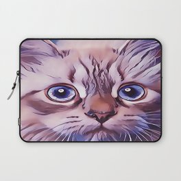 Birman The Blue Eyed Cat Laptop Sleeve