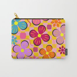 Floral joy in June Carry-All Pouch