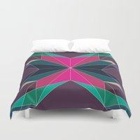 fractal Duvet Covers featuring Fractal  by ALL TYPE _ Marcio Pontes